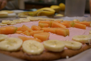 FRUIT PIZZA (fruit pie)