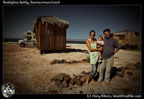 Rodolphos family, Buenaventura beach