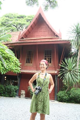 JIM THOMPSON HOUSE thai silk