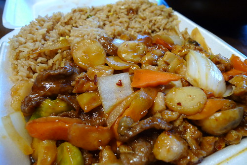 "Hunan's ""Double Delight in Garlic Sauce"""