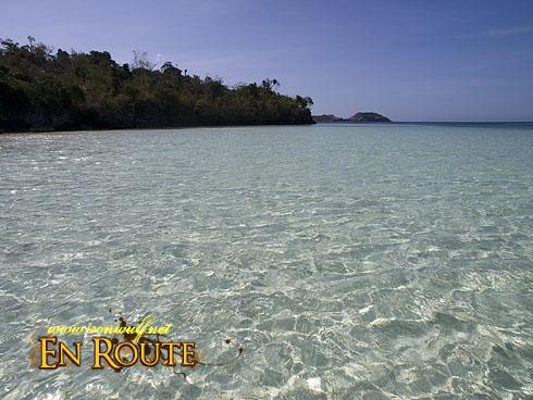 Inasakan Beach Crystal Clear Waters