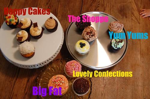 Denver Cupcake Tasting!