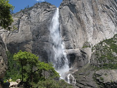 Upper Yosemite Fall. (Yosemite Village, California, United States) Photo