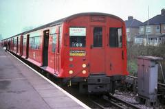 CP Stock at Dagenham East (bowroaduk) Tags: tube londonunderground londontransport