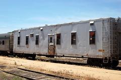 Burlington Northern Railroad No. 951868, Colorado, Pueblo (31,818) (EC Leatherberry) Tags: railroad colorado bn mow pueblocounty maintenanceofway dinercar burlingtonnorthernrailroad outfitcar