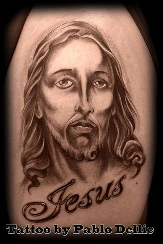 Tatuagem Jesus Tattoo by Pablo Dellic. Thanks for visiting!