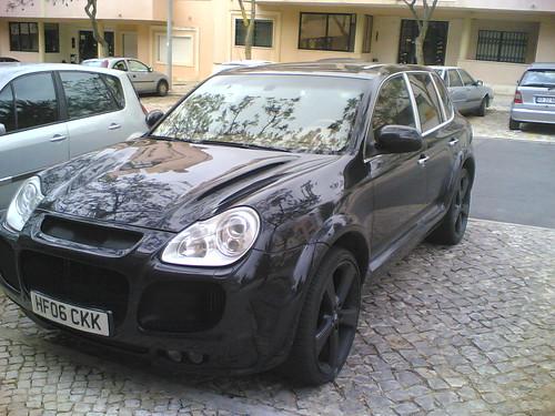 Porsche Cayenne Turbo Black. Black Porsche Cayenne Turbo S