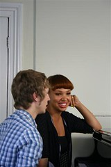 Mpho interviewed by Matt Edmondson on Pocket TV (Pocket TV) Tags: ericsson sony interview mpho pockettv mattedmondson