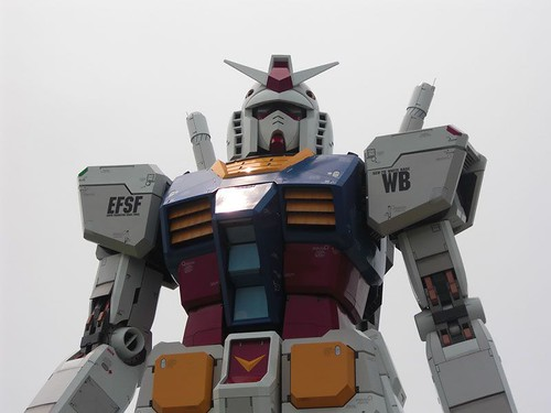 RX-78-2 Gundam in Odaiba