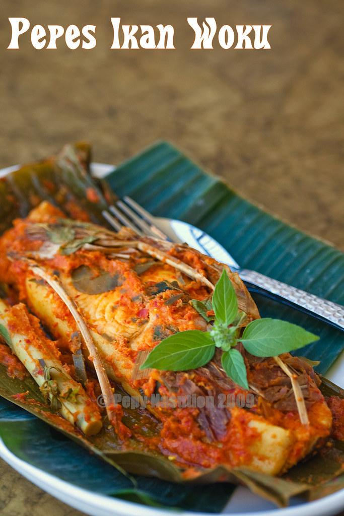 Pepes Ikan Woku