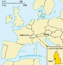 Liechtenstein-mapa por ti.
