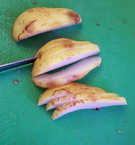 dried pears step 4