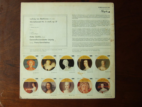 60s album vinyl hans collection cover lp record 70s classical disc platte sleeve hoes 12inch classique hansthijs klassiek franzkonwitschny gewandhausorchleipzig beethovenpianoconcertono2op37dieterzechlinpiano