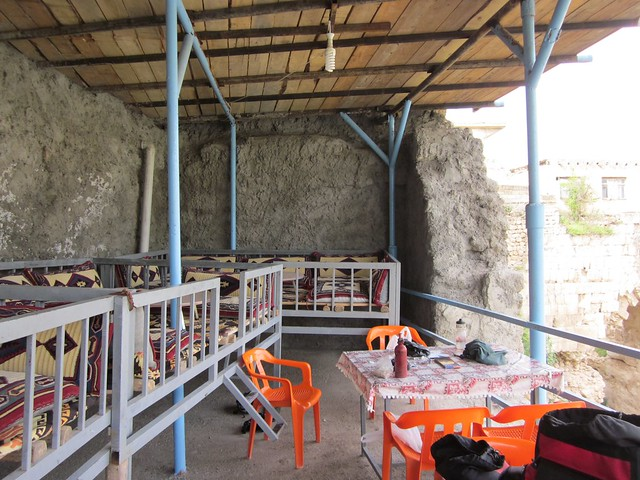 My sleeping quarters at Hasankeyf.