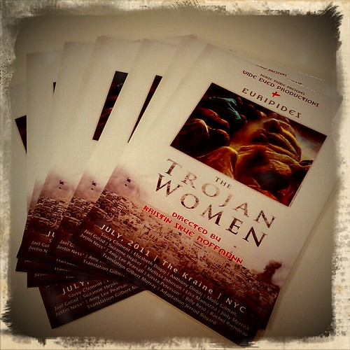 Trojan Women postcards by Zuzu*Petals