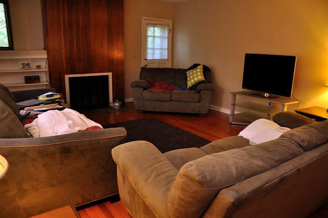 Living Room Success!