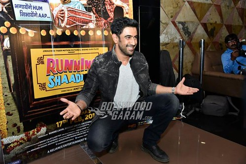 B'Town celebrities watch and appreciate Running Shaadi at screening event
