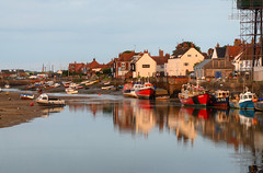 Wells-next-the-sea, Norfolk (Rich3012) Tags: uk morning reflections dawn coast harbour north norfolk wells shore engand hdr wellsnextthesea vision:outdoor=0972 vision:sky=0646