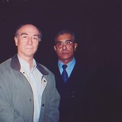 Con Rodolfo Reyes, coreógrafo mexicano, director fundador del Ballet Folclórico Nacional de Chile (BAFONA)
