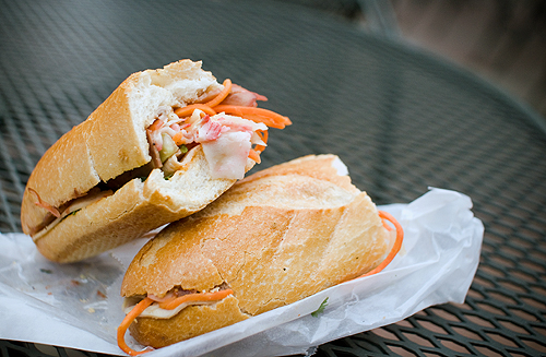 Downtown Lunch: Banh Mi Cart