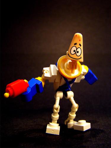 Earthworm Jim custom minifig