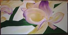 Orchidea (Elanorya) Tags: camera natura quadro mamma fiore colori tela acrilico orchidea