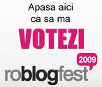 Voteaza-ma la roblogfest 2009