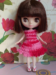 Chic in red matiz for Petite Blythe