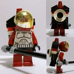 42nd Dark Horse Sqd_2_The Knight (Fine Clonier) Tags: minifig custom kam clone droid clonewars minifigure kaminoan