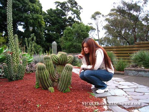 me at a cactus