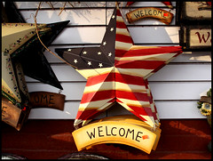 Welcome (t_a_i_s) Tags: pa americana welcomesign amishcountry