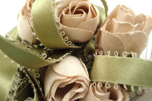 Vintage Pin Cushion Roses