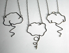 Storm Necklaces by Freeforged Jewelry