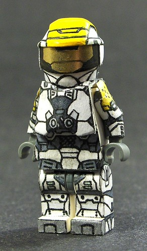 Halo Spartan custom minifig with Decals