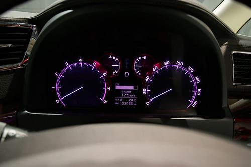 Toyota Alphard 2009 Dashboard