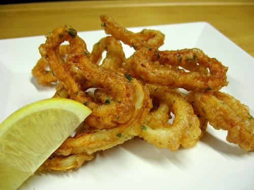 Rabas Fritas - Fried Calamari