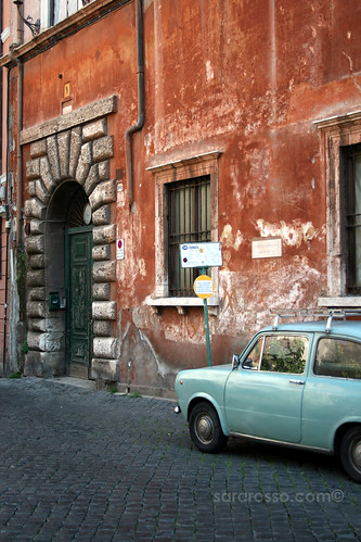 Morning Colors, Trastevere, Rome