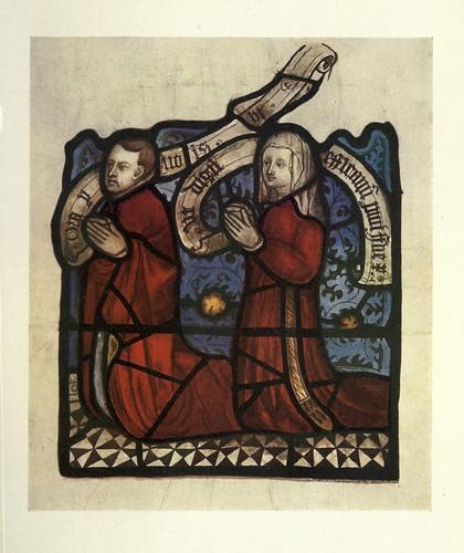 023- Detalle vitral Actos de Misericordia- Todos los Santos- North Street- York siglo XV