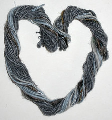handspun cotton/stoneleafmoon.com