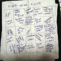 fixed-gear bingo, take 2