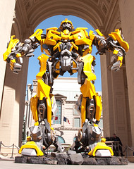 Bumblebee is way taller than you are.