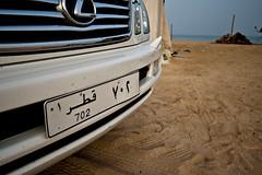 702. (Patrick Gage) Tags: desert licenseplate qatar qatarburghcom