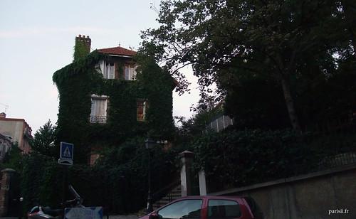 Les maisons couvertes de lierre, jadore
