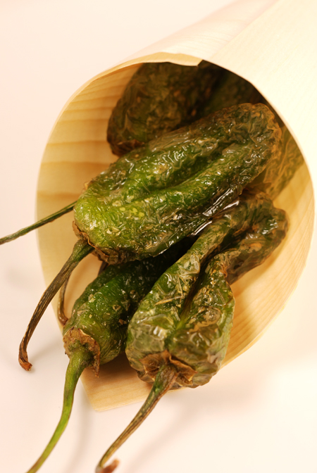 Fried Padrón Peppers© by Haalo
