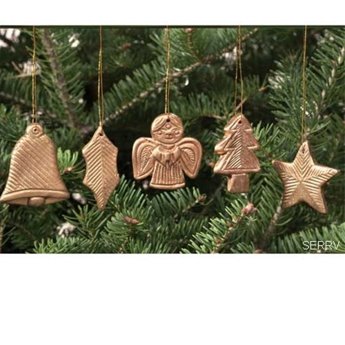 WOODEN CHRISTMAS TREE ORNAMENTS at the MERRY CHRISTMAS SHOP