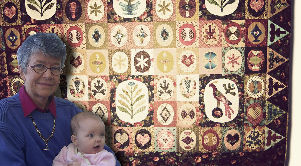 mothers and their quilts