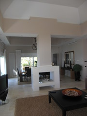 Modern 2 way chimney     (alegriaproperties) Tags: costa sol beach del front line villa