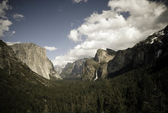 .yosemite valley (bex finch) Tags: california west america landscape nationalpark yosemite halfdome elcapitan bridalveilfalls glacierpoint yosemitevalley elcap tunnelview