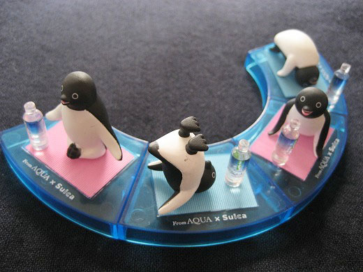 YOGA Penguin Figures
