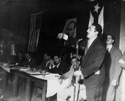 Castro Miami Anti-SAR Rally 1955-2